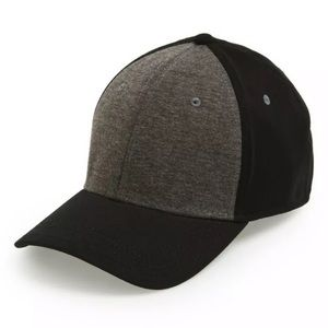 Gents Men's Jersey Knit Fitted Hat Baseball Cap